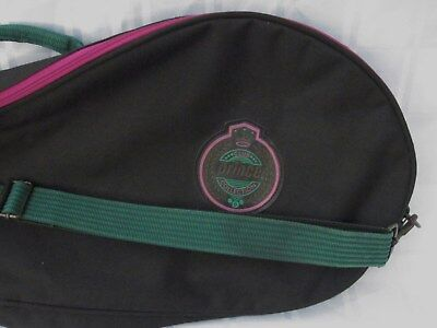 PRINCE CLUB COLLECTION TENNIS RACQUET BAG COVER Case VINTAGE THICK and STURDY