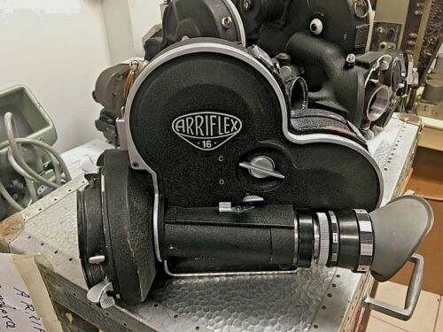 Vintage Arriflex 16mm Cine Camera Model 16S with extras
