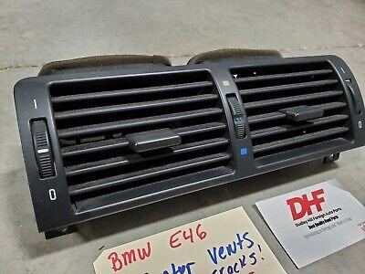 BMW E46 3-Series Dash Center Air Vent 1999-2006 323i 325i 328i 330i M3 OEM USED