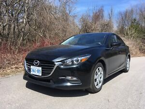 2017 Mazda 3 GX / priced to sell / under warranty
