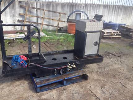 Tray/spare wheel holder & winch/Toolbox & water tank Redcliffe Belmont Area Preview