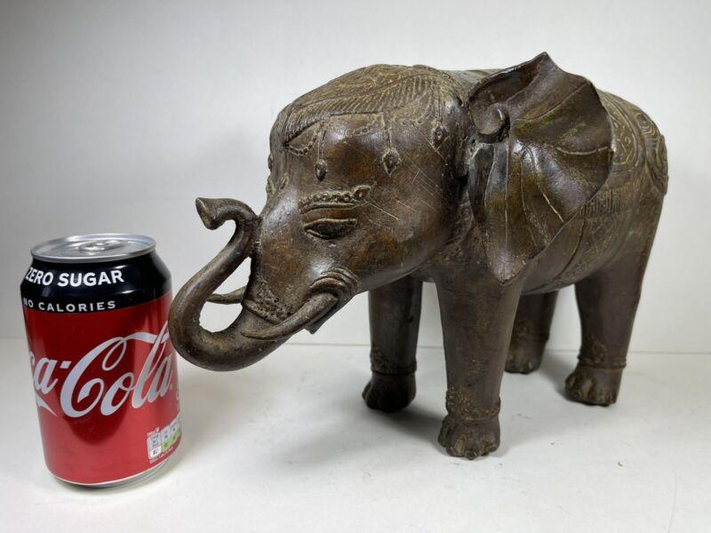 Vintage Indian Bronze Elephant