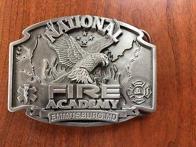 National Fire Academy Belt Buckle