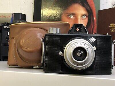 Agfa Click I i 1 Made in Germany Roll Film Kamera Analoge Vintage Camera Tasche