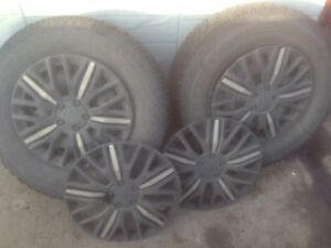 Decent set of tires with rims