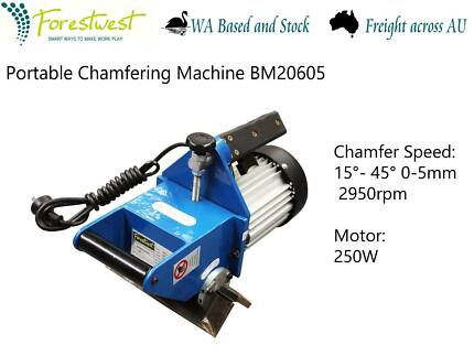 Manual Portable Chamfering Machine LAST ONE CLEARENCE BM20605