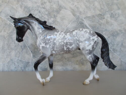 Peter Stone 2002 Trunk Tour Horse Adobe Dappled Gray Thoroughbred Special Run