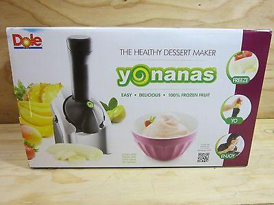 Мороженицы Dole Yonanas The Healthy Dessert
