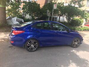 Hyundai Accent 2012 automatique 125000klm