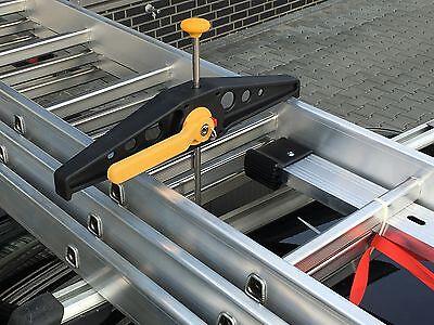 Rhino Safe Clamp Auto Leiterhalter für Dachträger Leitersicherung SafeClamp NEU