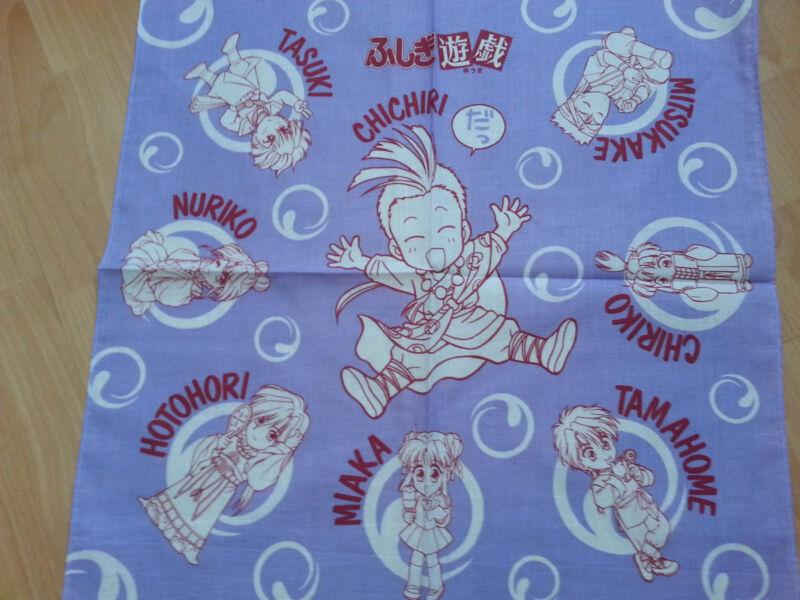 Fushigi Yuugi Yugi Chichiri  tamahome miaka hotohori handkerchief bandana  RARE