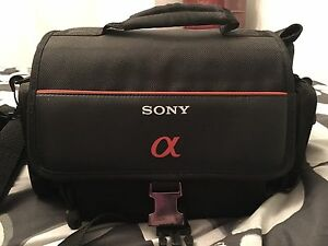 Sony camera bag