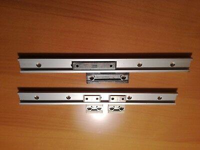 Linear Führungsschienen Aluminium eloxiert