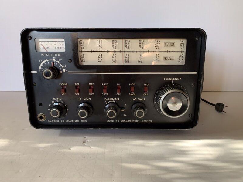 Drake 2-B Ham Radio Receiver