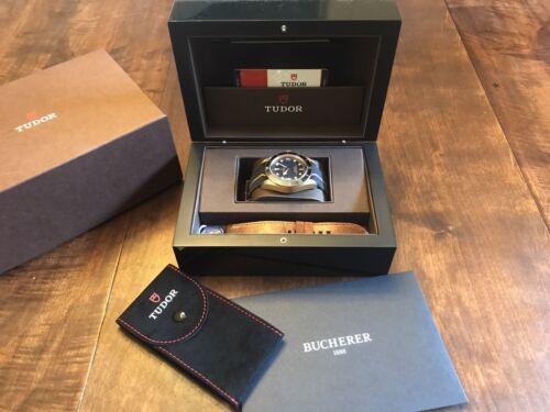 Tudor Black Bay Bronze Blue Bucherer Limited Edition - watch picture 1