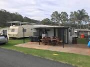 Caravan on site Shoalhaven Ski Park Nowra Alfords Point Sutherland Area Preview