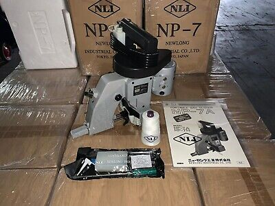 Np7a Newlong Industrial Japan Portable Bag Closer - Union Special Fischbein