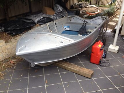 12ft Aluminium Tinnie with 15hp motor Geebung Brisbane North East Preview