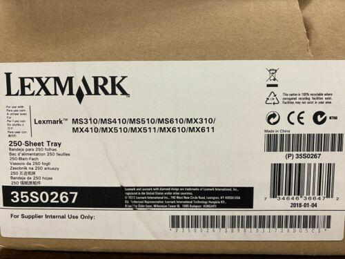 Lexmark 250 Sheet Tray 35S0267 MS310/MS410/MS510/MX310/MX410/MX510/MX511/MX610/M