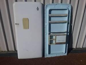 Old Kelvinator fridge door