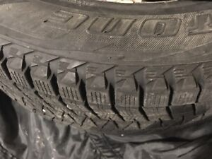 Bridgestone Blizzak's 215/65R/17 Winter Tires