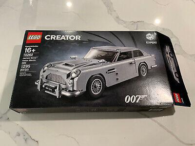 Lego Creator James Bond Aston Martin DB5 Set 10262 Original Box Only Display Art
