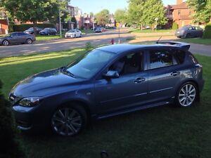 Mazdaspeed3 2007 ! Voiture Rare et clean ,femme propriétaire