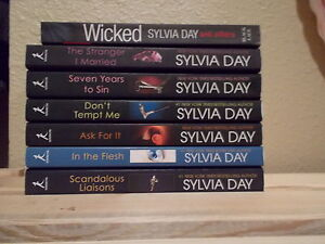 Sylvia Day,Group of Mixed Books