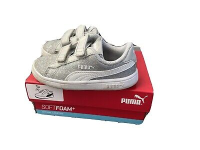 Puma Glitz Infant Toddler Trainers 24 Size 7