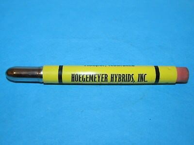 Vintage Hoegemeyer Hybrids Inc Hooper Nebraska Bullet Pencil Corn Sorghum Twine