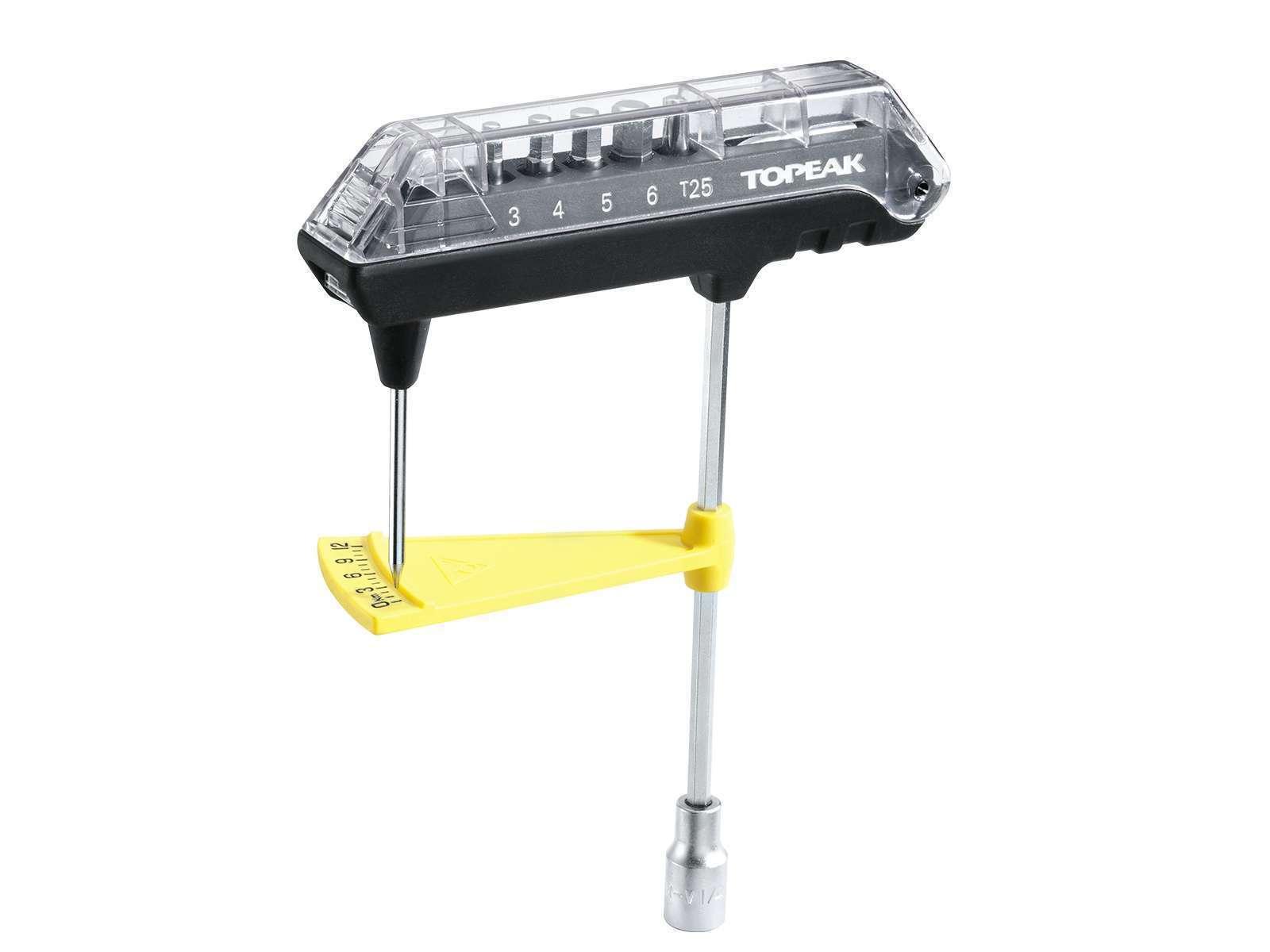 Topeak TPS-SP07 ComboTorq Wrench & Bit Set / Bike Bicycle He
