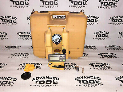Topcon Dt-209 Optical Digital Theodolite W Carrying Case Dt-200