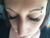 Lash extensions- In the comfort of your home