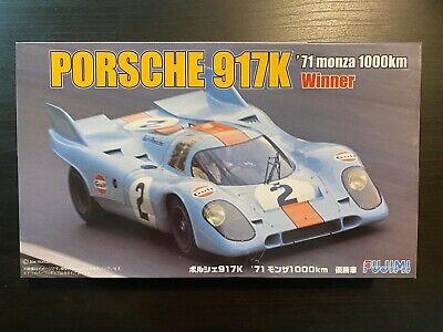 "1/24 Fujimi Porsche 917K '71 Monza ""Gulf"" plus Renaissance Photoetch set"