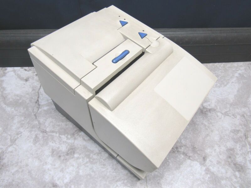 IBM TOSHIBA 4610-2CR THERMAL POS RECEIPT PRINTER W/ POWERED USB - WHITE