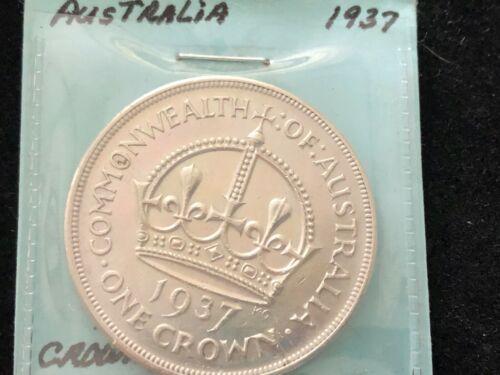 1937 AUSTRALIAN CROWN UNCIRCULATED