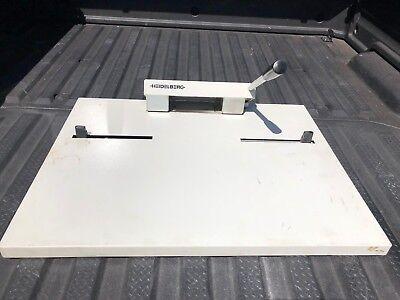 Heidelberg Nela A1090901601 Bench Top Offset Press Plate Punch