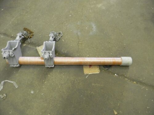 "USED Hubbell Pole Mounted GIN 48"" AB CHANCE"