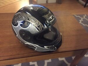Men's Large HJC motorcycle helmet