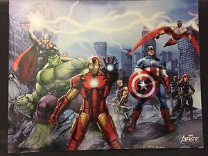 MARVEL AVENGERS POSTER / CANVAS 45$ NEGOTIABLE