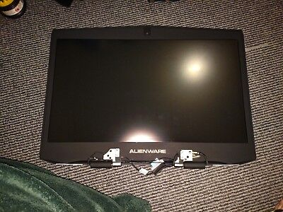 "COMPLETE KIT - OEM DELL Alienware M17X R5 17.3"" FHD LCD SCREEN DISPLAY WEBCAM"