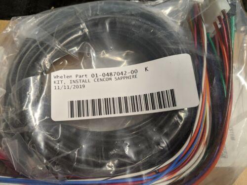 Whelen CenCom Sapphire Install Kit - 01-0487042-00