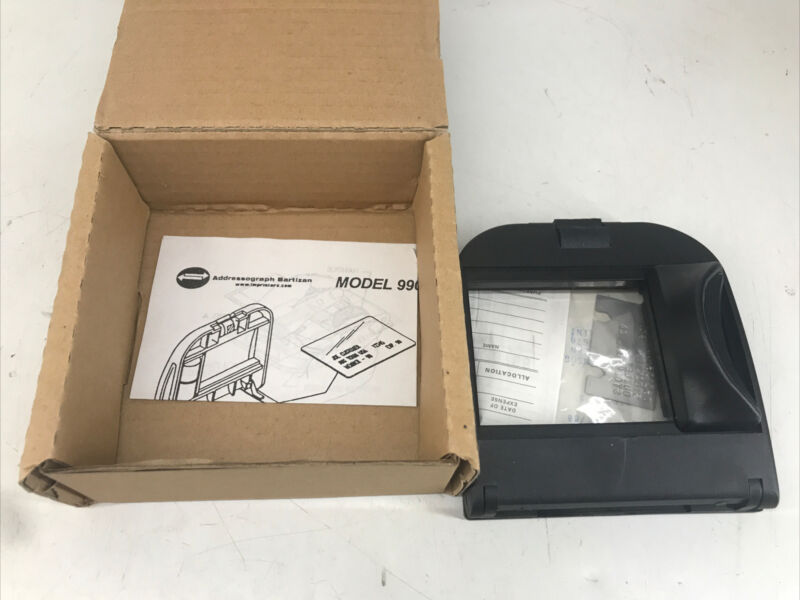 Addressograph model 990 Portable Credit Card Imprinter