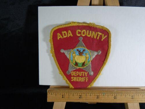ADA COUNTY DEPUTY SHERIFF (Old Vintage) IDAHO Police Patch