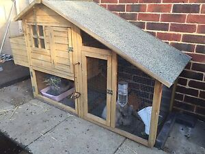 Huge Rabbit hutch / chicken coop Bicton Melville Area Preview