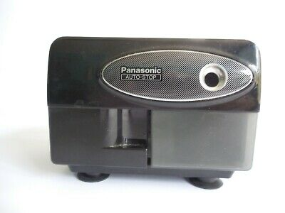 Panasonic Electric Pencil Sharpener Auto Stop Kp-310 Tested Working