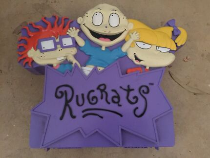 Rugrats Case And Toys