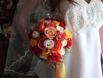 silk bridal bouquets Port Kennedy Rockingham Area Preview
