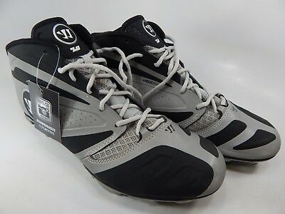 b99378ba3 Warrior Burn 7.0 Mid Top Size 11 M (D) EU 45 Men s Lacrosse Cleat Black  BURN7MRK