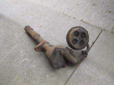 Farmall M Diesel Tractor Ih Md Engine Motor Oil Pump Assembly Sump Screen